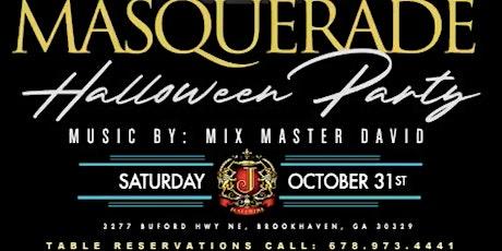 Masquerade Halloween Party @ Josephine Lounge tickets