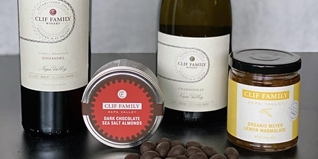 Virtual Wine and Food Tasting with Clif Family tickets