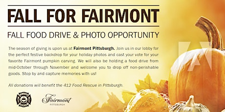 Fall for Fairmont - Food Drive and Photo Opportunity!! tickets