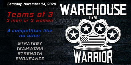 2020 WAREHOUSE WARRIOR tickets