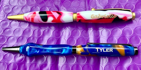 Acrylic Turned Pens Workshop, Create your own pen in the Fab Lab tickets