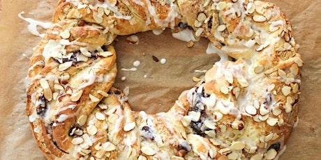 Online Baking Workshop: Finnish Cardamom Raisin Bread Wreath (Pulla) tickets