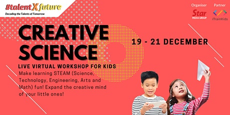 #talentXfuture: Creative Science Hands-On Workshop tickets