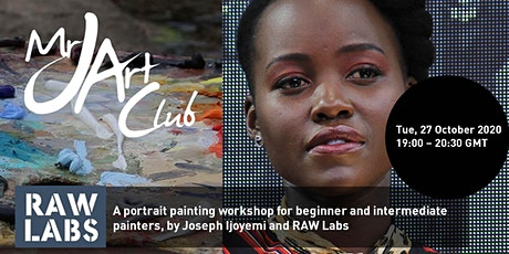 Mr J Art Club: Portrait Workshop tickets