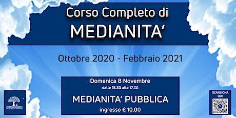 Corso Completo di Medianità biglietti