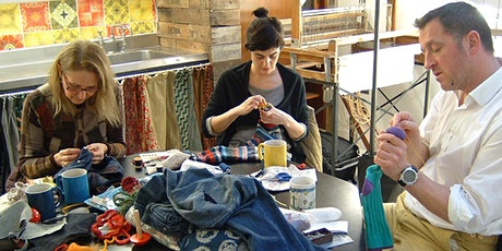 Introduction to hand sewing repairs (fabric items) tickets