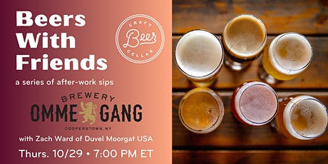 Beers with Friends: A Series of After-work Sips tickets