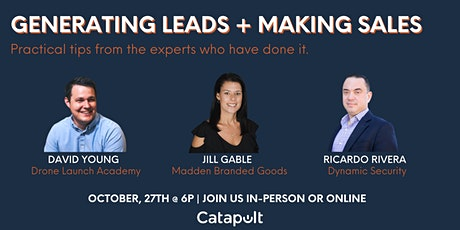 Generating Leads + Making Sales tickets