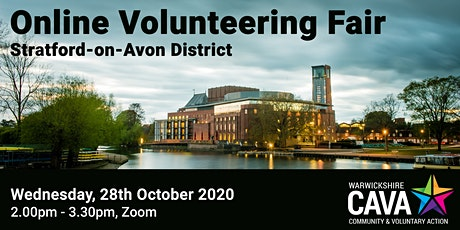 Online Volunteering Fair – Stratford-on-Avon District tickets