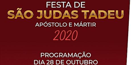 Missa do dia 28 de outubro em honra a São Judas Tadeu •