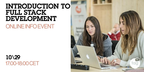 Introduction to Full Stack Development | Online Info Event tickets