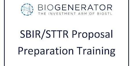 SBIR STTR Training Seminar tickets