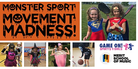 Monster Sport Movement Madness with Merit School of Music & Game On! Sports tickets