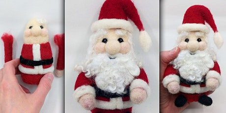 Needle Felt a Santa Claus Figure tickets