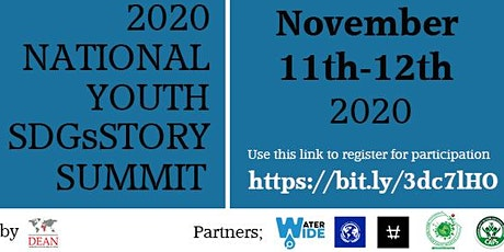National Youth SDGsStory Summit tickets
