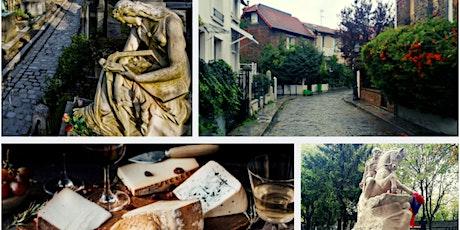 """Visite guidée """"Les énigmes de l'est parisien"""" & événement wine and cheese billets"""