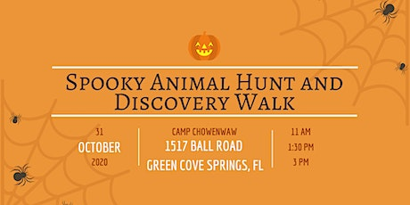 Spooky Animal Hunt and Discovery Walk 1:30PM tickets