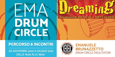 PERCORSO NELLE EMOZIONI CON IL DRUM CIRCLE - DREAMING ACADEMY biglietti