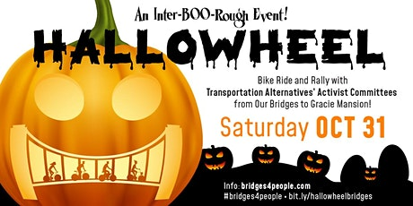 Hallowheel Inter-boo-rough Bridge Rides (10am, various) and Rally (1pm, GM) tickets