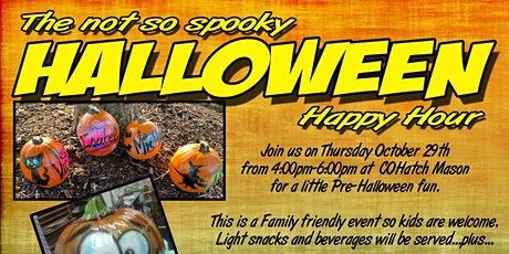 Halloween Happy Hour with Anything Airbrushed tickets