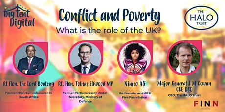 Conflict and Poverty: What is the role of the UK? tickets