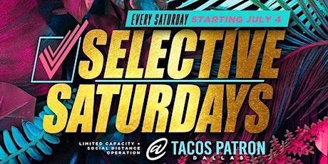 Selective Saturdays tickets