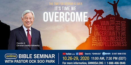 Online Bible Seminar with Pastor Ock Soo Park tickets
