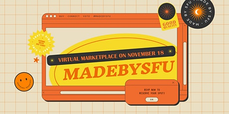 #MadeBySFU Marketplace 2020 tickets