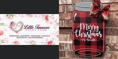 Paint & Sip at Little Tennessee Event Farm Night 2 tickets