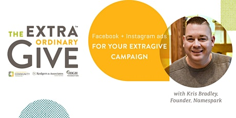 Facebook + Instagram Ad Campaigns for ExtraGive tickets