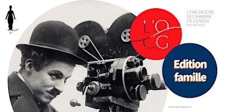 Ciné-concert famille : Le Cirque avec L'Orchestre de Chambre de Genève billets