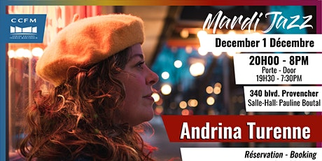 Mardi Jazz - Andrina Turenne tickets