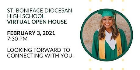 St. Boniface Diocesan High School Virtual Open House tickets