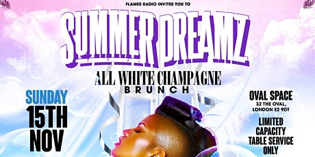 SUMMER DREAMZ - All White Champagne - BRUNCH tickets