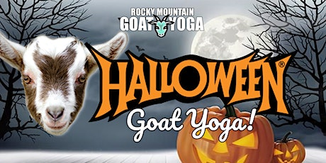 Halloween Goat Yoga - October 31st (RMGY Studio) tickets