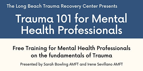 Trauma 101 for Mental Health Professionals 11/13 tickets