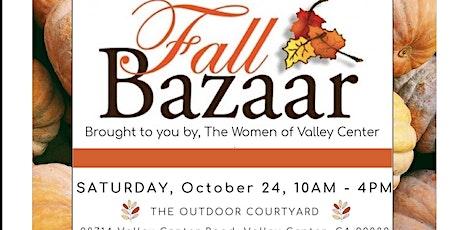 Fall Bazaar tickets