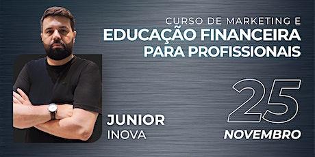 Curso de Marketing e Educação Financeira para Profissionais ingressos