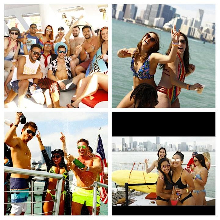 MIAMI ALL INCLUSIVE BOAT PARTY - BOOZE CRUISE image