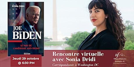 Joe Biden, le pari de l'Amérique anti-Trump : conversation avec Sonia Dridi billets