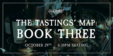 Analog Alley Presents: The Tastings' Map: Book Three | Oct 29th @ 6:30pm tickets
