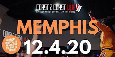 Coast 2 Coast LIVE Showcase Memphis - Artists Win $50K In Prizes tickets