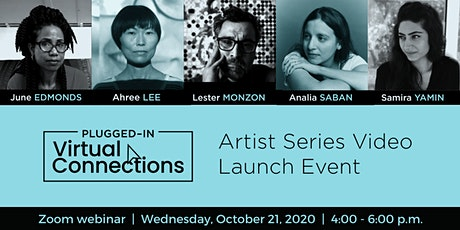 Plugged-In Virtual Connections Artist Videos Series Launch tickets