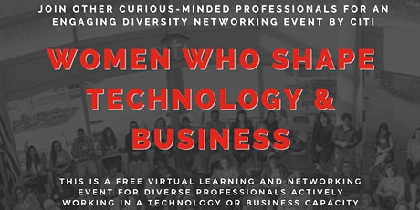 Women Who Shape Technology and Business tickets