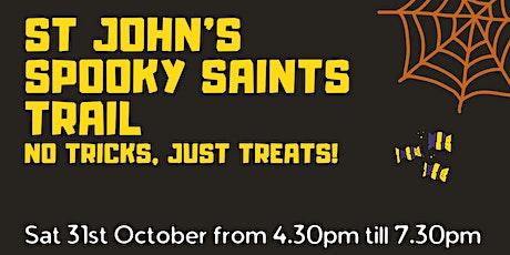 Spooky Saints Trail tickets