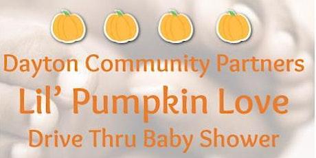 Lil' Pumpkin Love DriveThruBabyShower tickets
