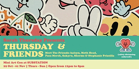 Thursday & Friends Art Con tickets
