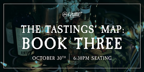 Analog Alley Presents: The Tastings' Map: Book Three | Oct 30th @ 6:30pm tickets