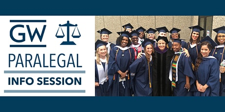 GW's Paralegal Program Info Session tickets