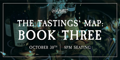Analog Alley Presents: The Tastings' Map: Book Three | Oct 30th @ 8pm tickets
